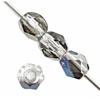 Fire polished 4mm Transparent Crystal Azuro